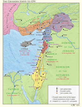 The Crusader States to 1291