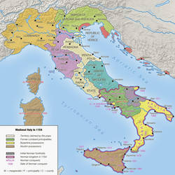 Medieval Italy to 1154