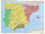 The Iberian Kingdoms in c. 1270