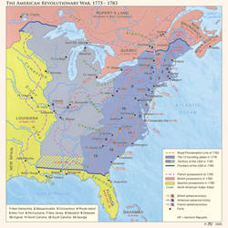 The American Revolutionary War, 1775 - 1783