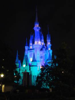 Castle in Blue