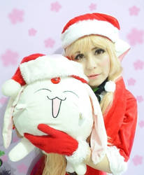Chii Christmas (Chobits) by deruri