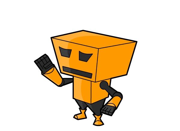 cube-Bot by Agil-Pradhita