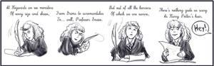 Hermione, the secret poetess.