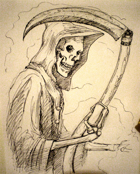 Discworld's Death by infiniteviking