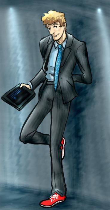 Ram in a suit by infiniteviking