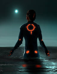 Rinzler at the Sea by infiniteviking
