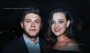 niall horan and katherine langford, manip by larriereligion