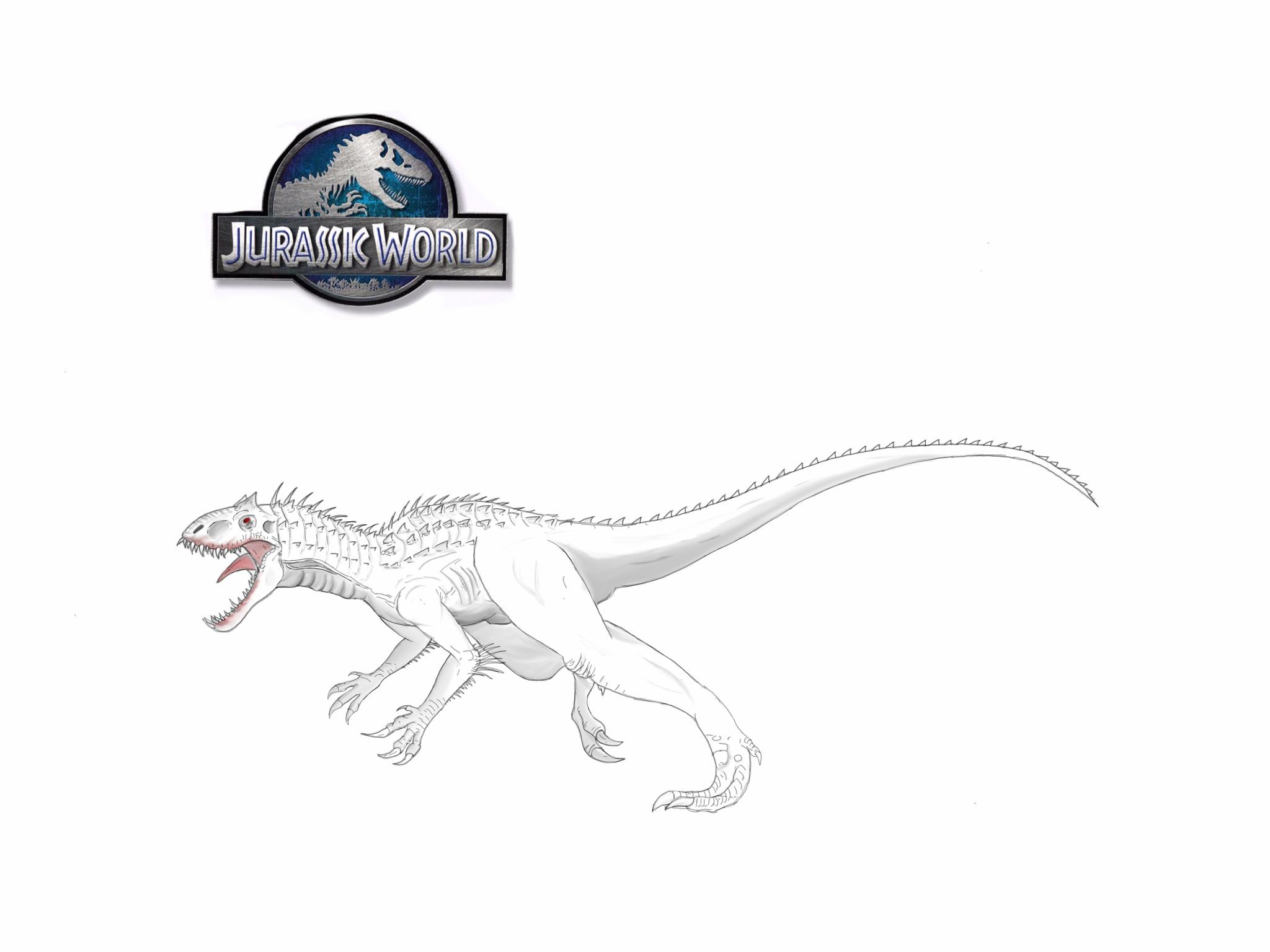 Indominus Rex By Ejsarmen On Deviantart