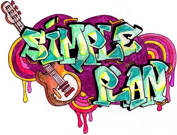 Simple Plan Graffiti by LimunMoon ...