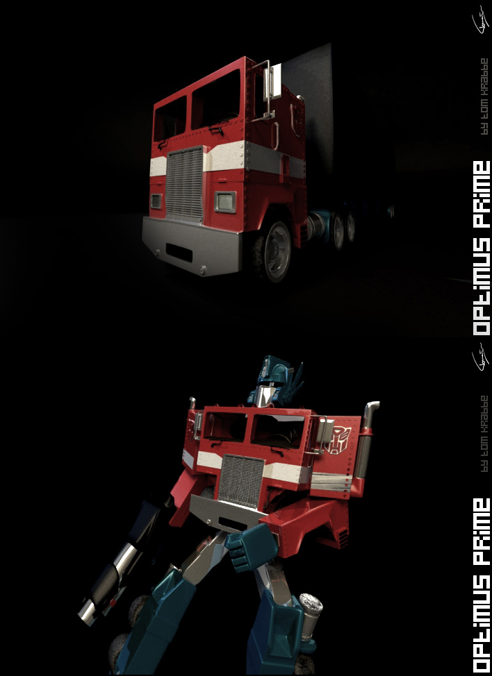 Optimus Prime by lycorda
