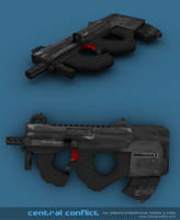 CentralConflict: Smg P90 by lycorda