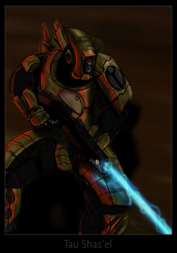 Tau Firewarrior by lycorda
