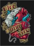 nico tattoo logo coloured