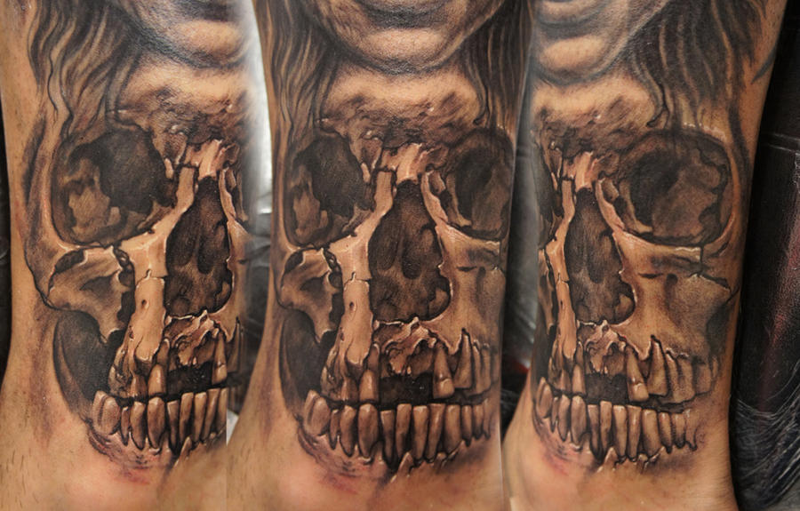 one more of those skulls by bhbettie