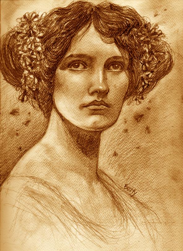 lady of flies by bhbettie