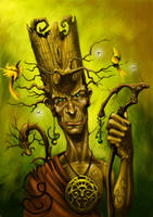 Tree man by javi-ure