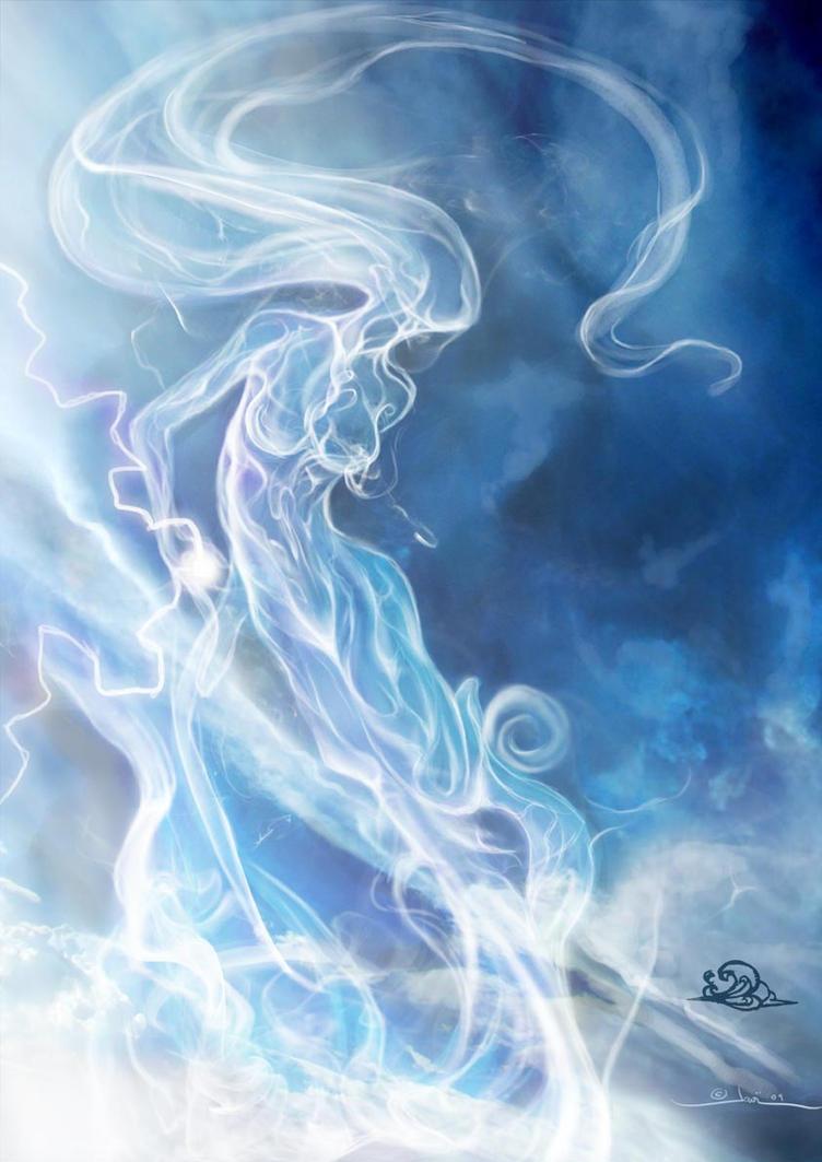 Air elemental by javi-ure