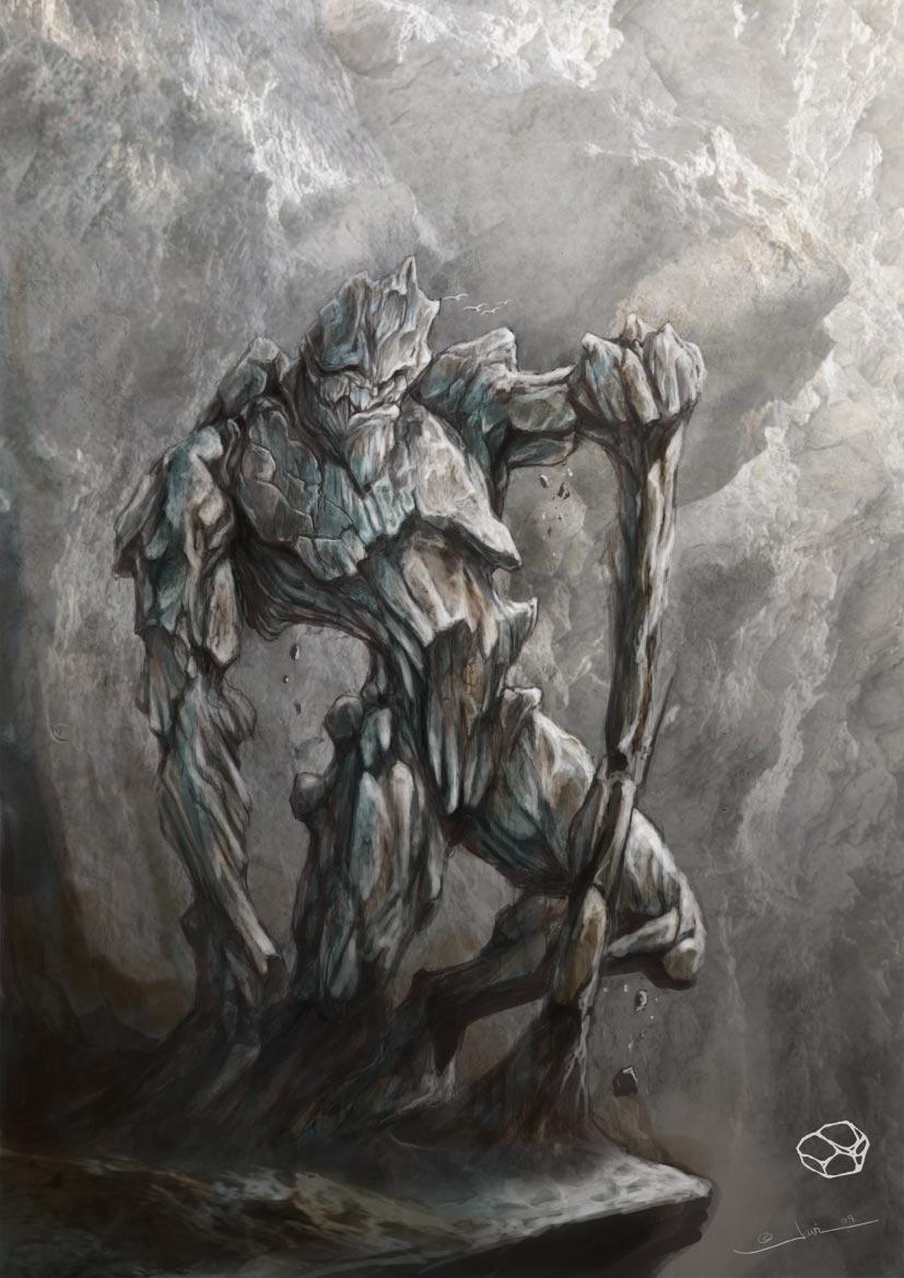 Earth elemental by javi-ure
