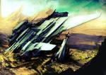 Landing Site by javi-ure