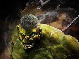 The Hulk_02 by javi-ure