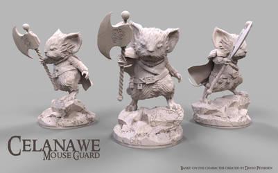 Mouse Guard: Celanawe by javi-ure