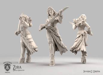 Devil's Shadow: Zira by javi-ure