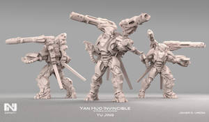Yan Huo Missile launcher