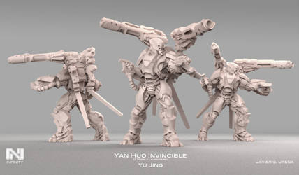 Yan Huo Missile launcher by javi-ure