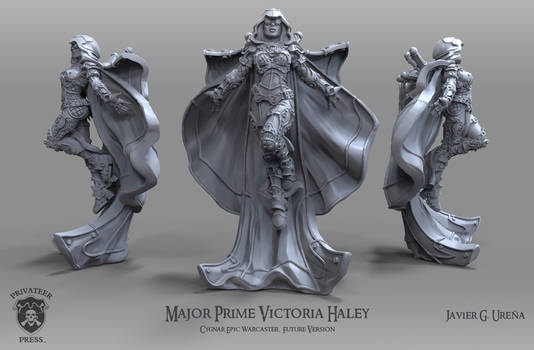 Major Prime Victoria Haley: Future Version