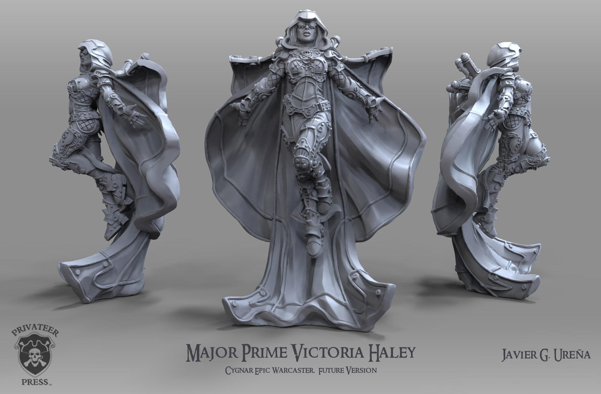Major Prime Victoria Haley: Future Version