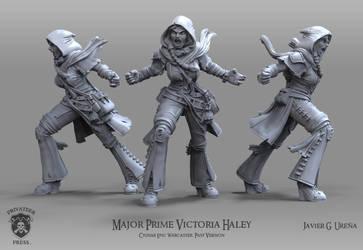 Major Prime Victoria Haley: Past Version by javi-ure