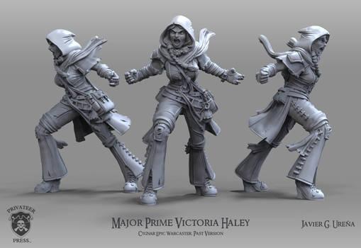 Major Prime Victoria Haley: Past Version