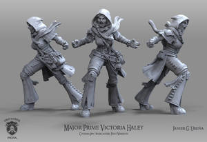 Major Prime Victoria Haley: Past Version