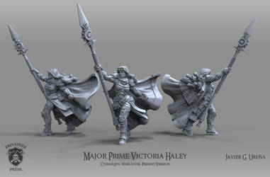 Major Prime Victoria Haley: Present Version