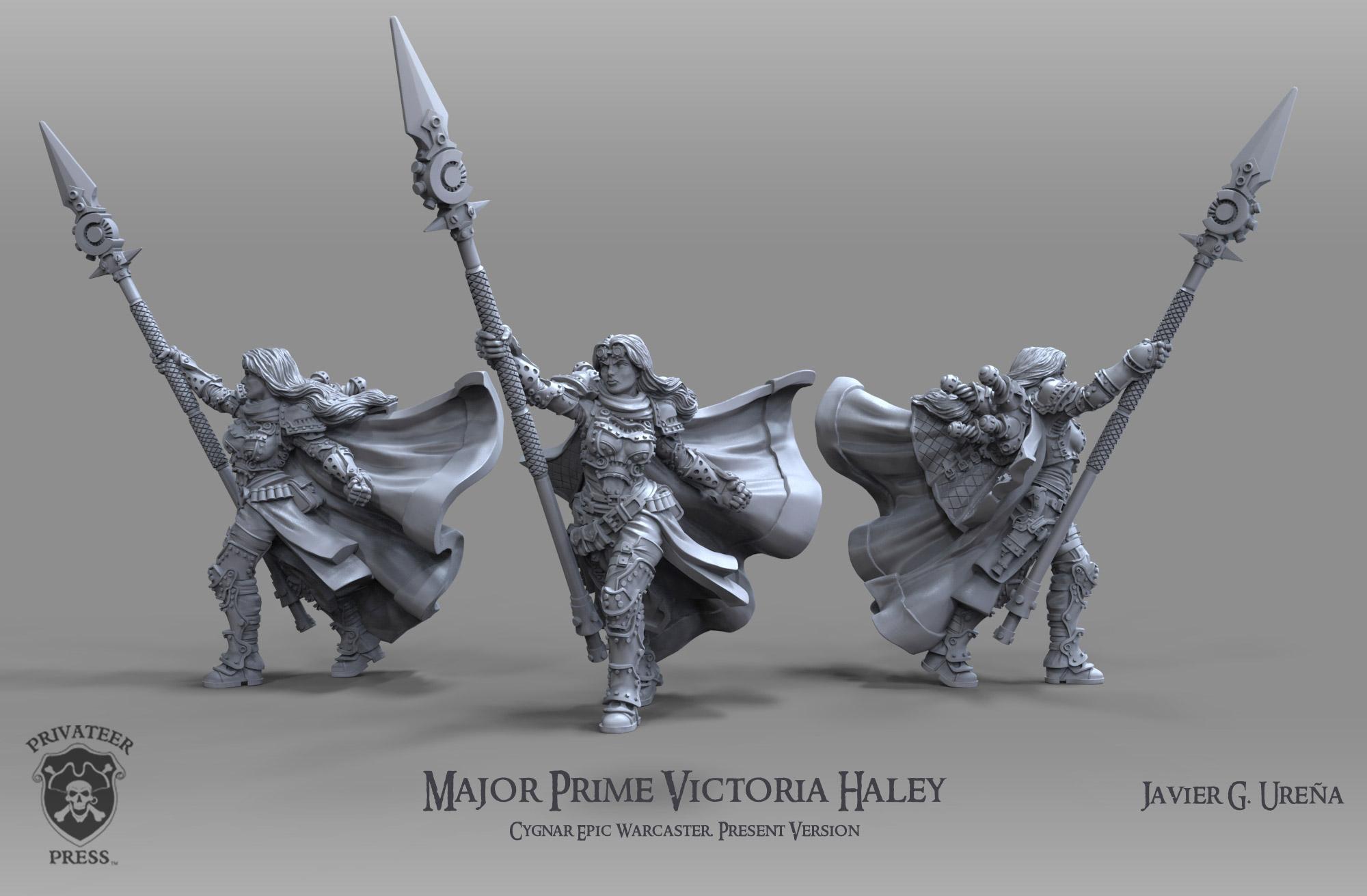 Major Prime Victoria Haley: Present Version by javi-ure