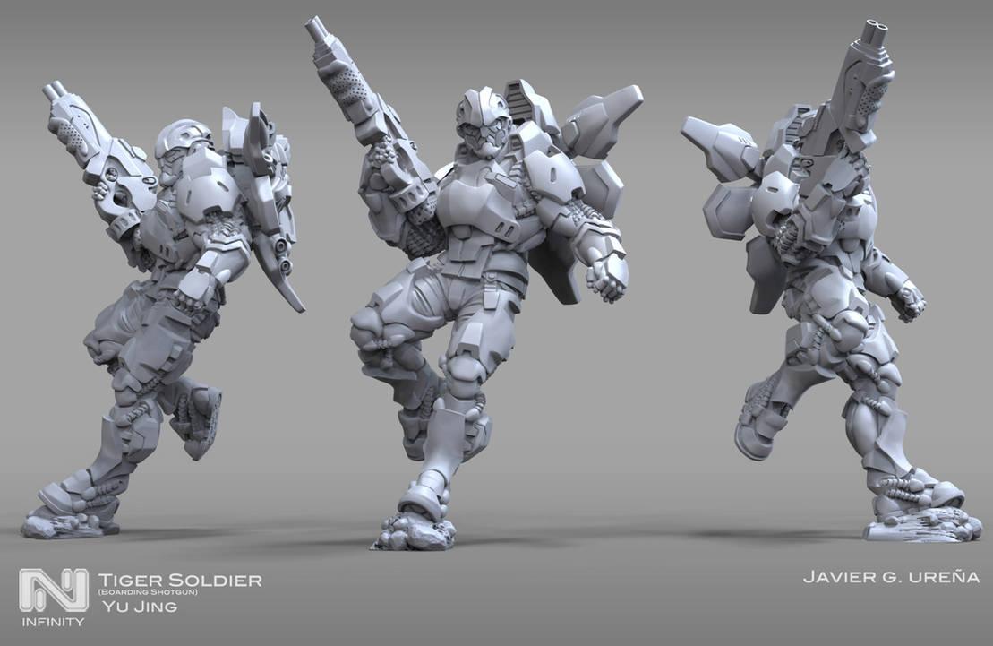 Tiger Soldier by javi-ure