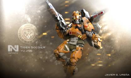 Tiger Soldier Color by javi-ure