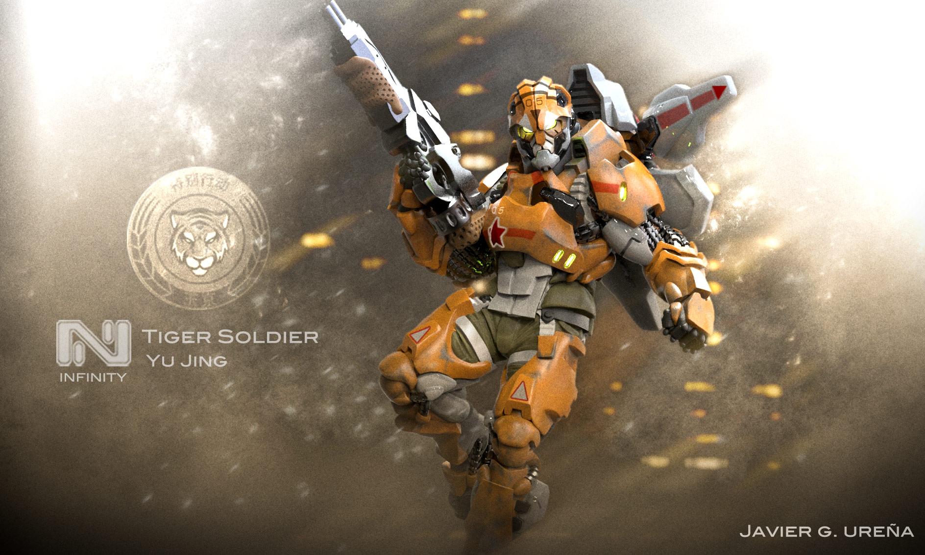 Tiger Soldier Color