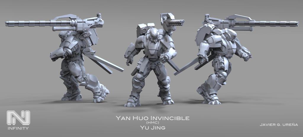 YAN HUO Invincible HMC