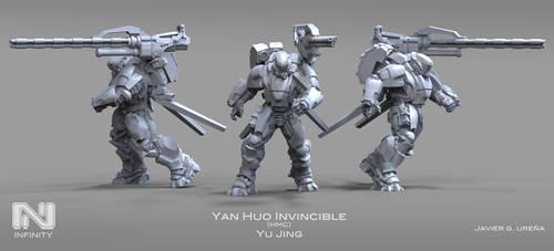 YAN HUO Invincible HMC by javi-ure