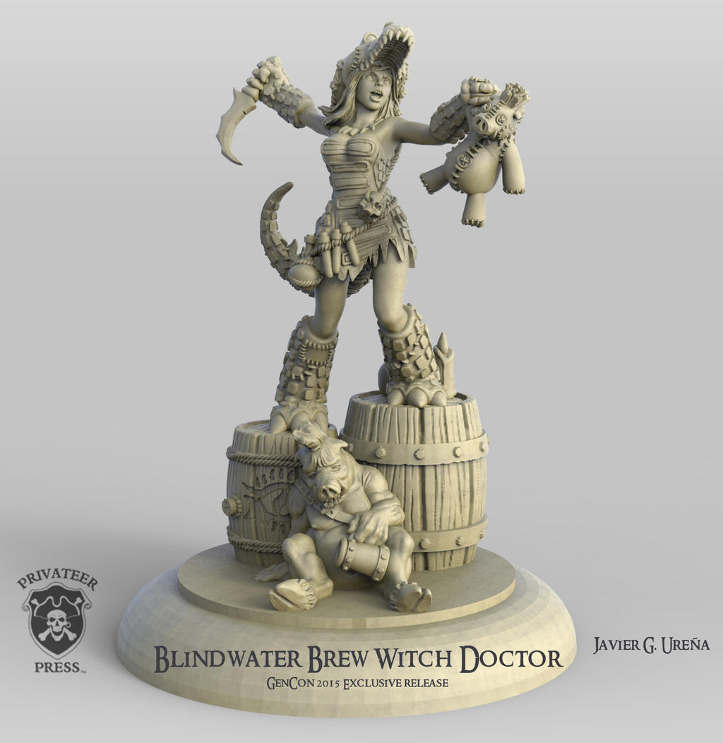 Blindwater Brew Witch Doctor by javi-ure