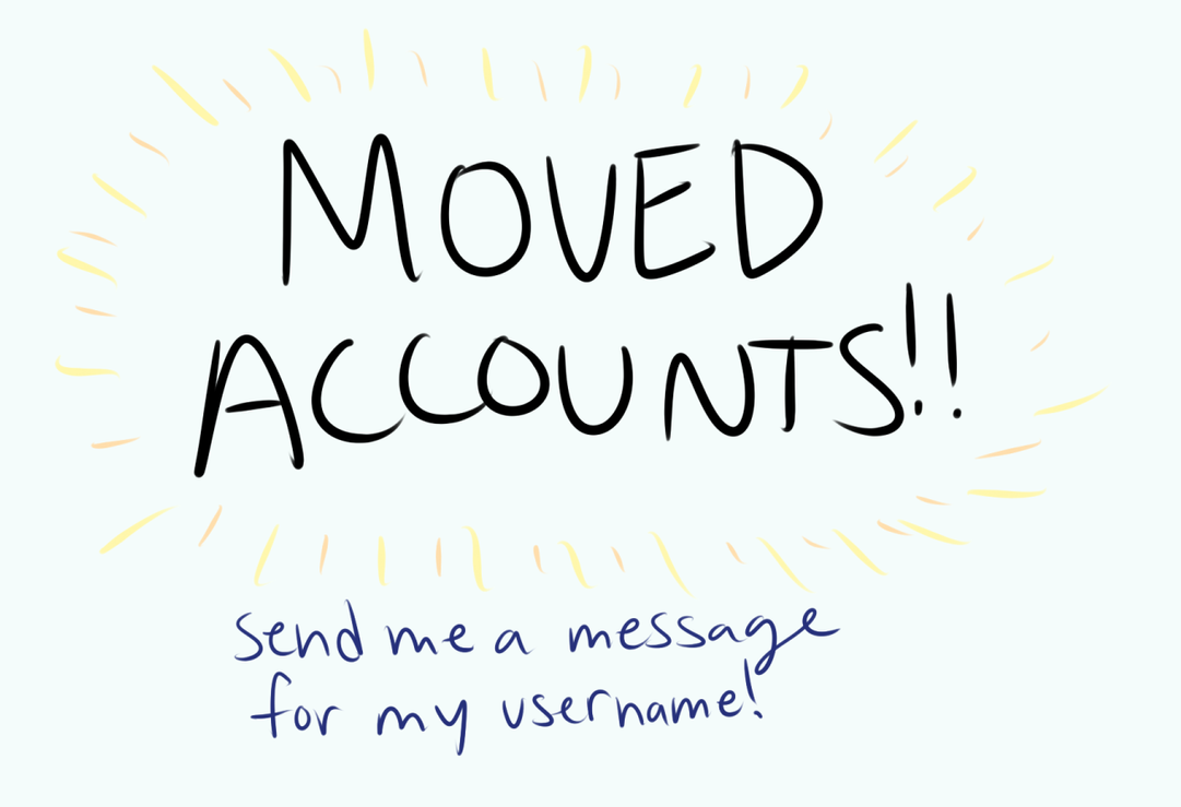 MOVED ACCOUNTS!! by artfanloveswolves