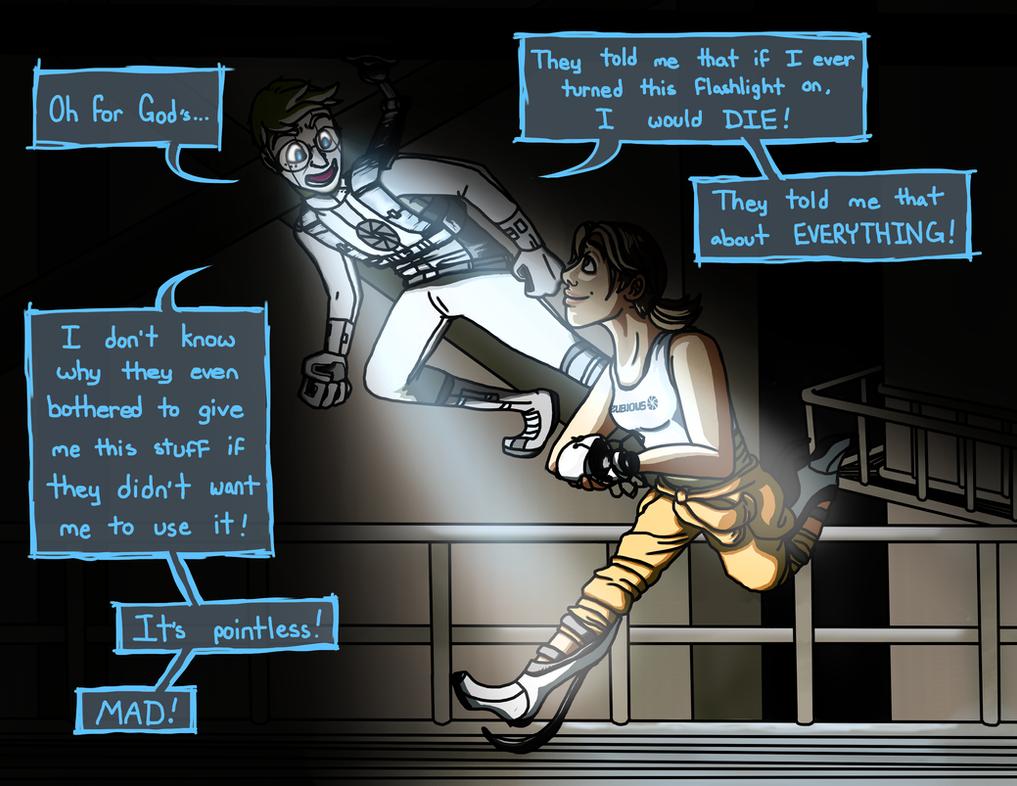Portal 2 - Andr... Glados Human
