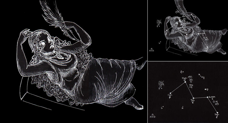 Cassiopeia Constellation Picture Cassiopeia Constellation Image