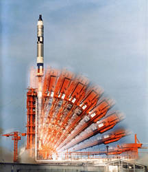 Gemini 10 launch time exposure
