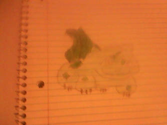 my colored bulbasaur