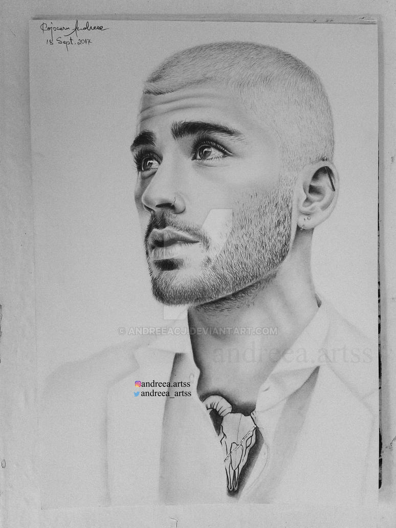 Zayn malik drawing by andreeacj