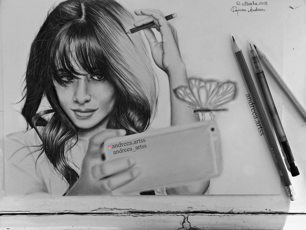 Camila Cabello Drawing By Andreeacj On Deviantart