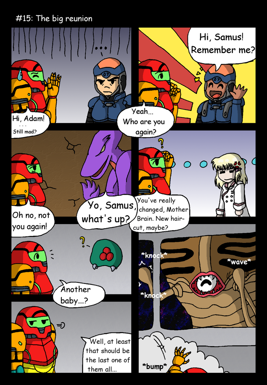 Metroid Other Jokes Comics Funny Videos Etc
